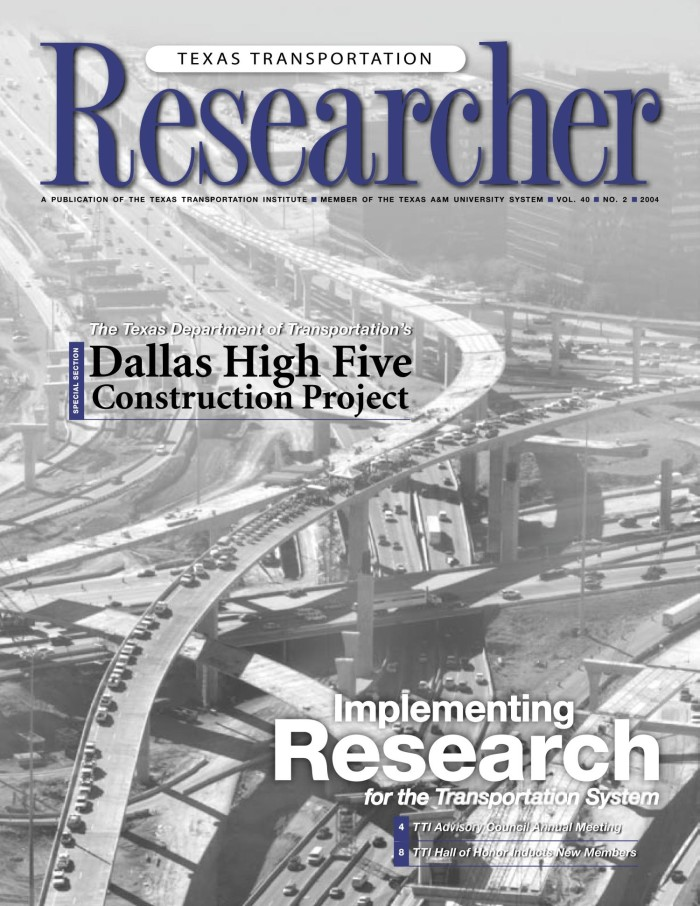 Texas Transportation Researcher, Volume 40, Number 2, 2004 - The
