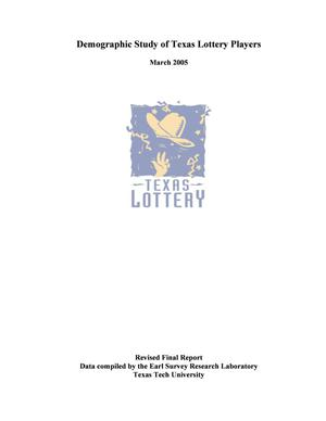 Primary view of object titled 'Demographic Study of Texas Lottery Players: 2004'.