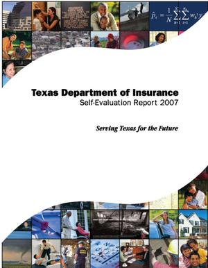 Primary view of object titled 'Texas Department of Insurance Self-Evaluation Report 2007'.