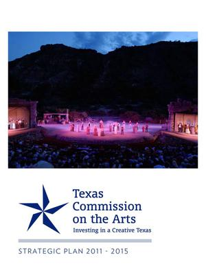 Primary view of object titled 'Texas Commission on the Arts: Investing in a Creative Texas'.