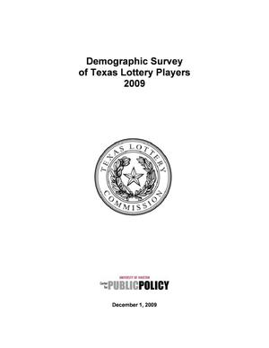 Primary view of object titled 'Demographic Study of Texas Lottery Players: 2009'.