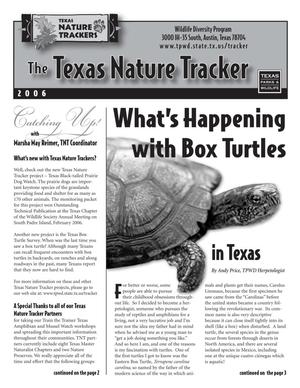 Primary view of object titled 'The Texas Nature Tracker, 2006'.