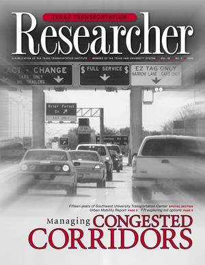 Primary view of object titled 'Texas Transportation Researcher, Volume 39, Number 4, 2003'.