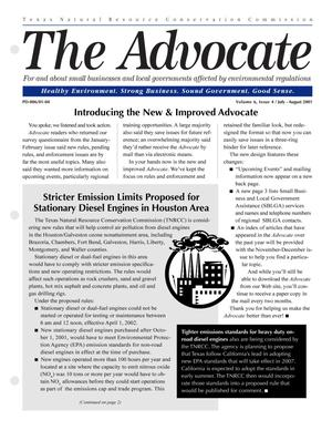 Primary view of object titled 'The Advocate, Volume 6, Issue 4, July-August 2001'.