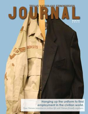 Primary view of object titled 'Texas Veterans Commission Journal, Volume 34, Issue 1, Winter 2011'.