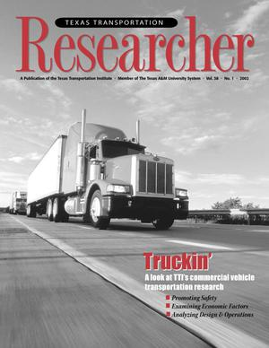 Primary view of object titled 'Texas Transportation Researcher, Volume 38, Number 1, 2002'.