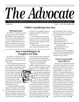 Primary view of object titled 'The Advocate, Volume 7, Issue 3, July-September 2002'.