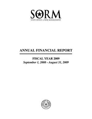 Primary view of object titled 'Texas State of Office Risk Management Annual Financial Report: 2009'.