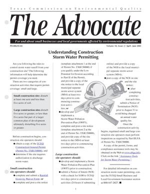 Primary view of object titled 'The Advocate, Volume 10, Issue 2, April-June 2005'.