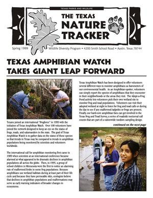 Primary view of object titled 'The Texas Nature Tracker, Spring 1999'.