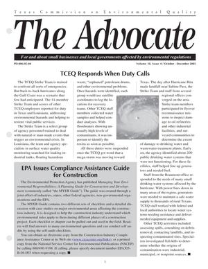 Primary view of object titled 'The Advocate, Volume 10, Issue 4, October-December 2005'.