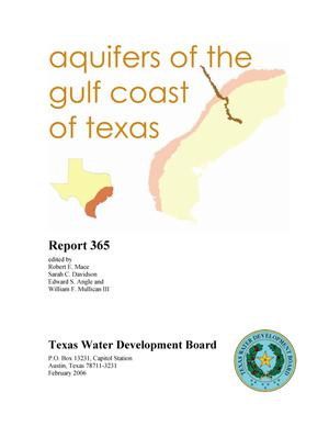 Primary view of object titled 'Aquifers of the Gulf Coast of Texas'.