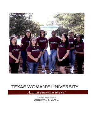 Primary view of object titled 'Texas Woman's University Annual Financial Report: 2012'.