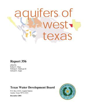 Primary view of object titled 'Aquifers of West Texas'.
