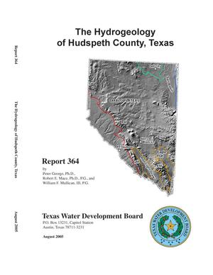 Primary view of object titled 'The Hydrogeology of Hudspeth County, Texas'.