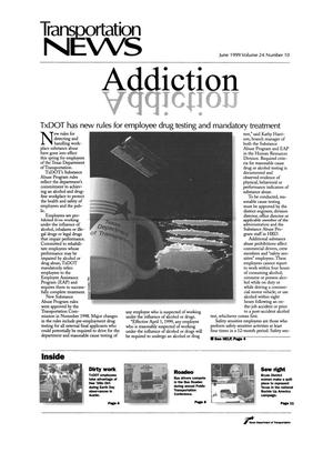 Primary view of object titled 'Transportation News, Volume 24, Number 10, June 1999'.