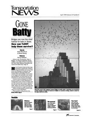 Primary view of object titled 'Transportation News, Volume 24, Number 8, April 1999'.