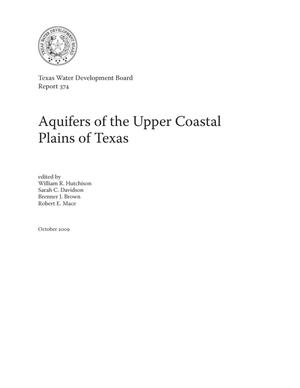 Primary view of object titled 'Aquifers of the Upper Coastal Plains of Texas'.