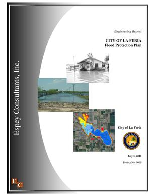Primary view of object titled 'City of La Feria Flood Protection Plan'.