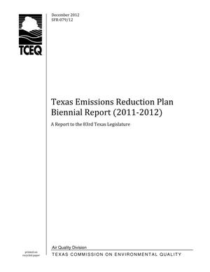 Primary view of object titled 'Texas Emissions Reduction Plan Biennial Report (2011-2012)'.