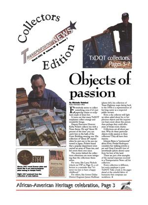 Primary view of object titled 'Transportation News, Volume 26, Number 7, March 2001'.