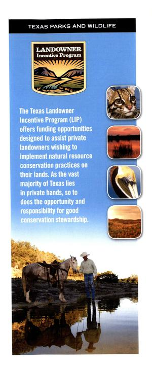 Primary view of object titled 'Landowner Incentive Program'.
