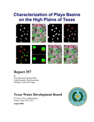 Primary view of object titled 'Characterization of Playa Basins on the High Plains of Texas'.