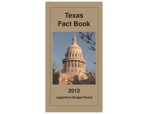 Primary view of object titled 'Texas Fact Book 2012'.