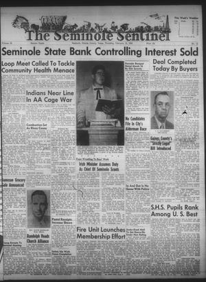 Primary view of object titled 'The Seminole Sentinel (Seminole, Tex.), Vol. 52, No. 12, Ed. 1 Thursday, February 12, 1959'.