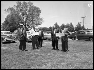 Primary view of object titled 'University Baptist Church Groundbreaking'.