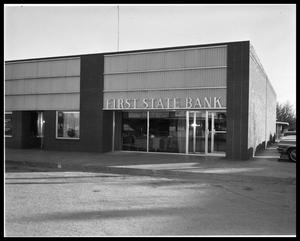 Primary view of object titled 'First State Bank #2'.