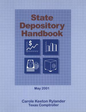 Primary view of object titled 'State depository handbook'.