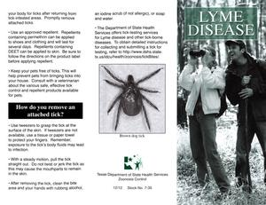 Primary view of object titled 'Lyme Disease'.