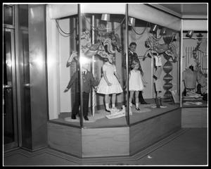 Primary view of object titled 'Minter's Store Windows #1'.