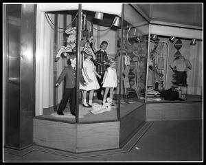 Primary view of object titled 'Minter's Store Windows #2'.