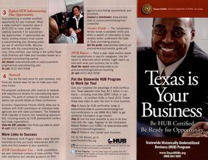 Primary view of object titled 'Texas is your business'.