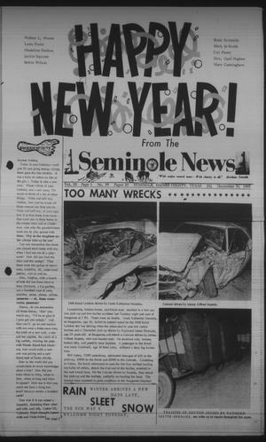 Primary view of object titled 'Seminole News (Seminole, Tex.), Vol. 3, No. 39, Ed. 1 Wednesday, December 31, 1969'.
