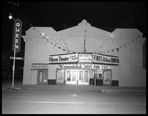 Primary view of object titled 'Queen Theater Remodeled'.