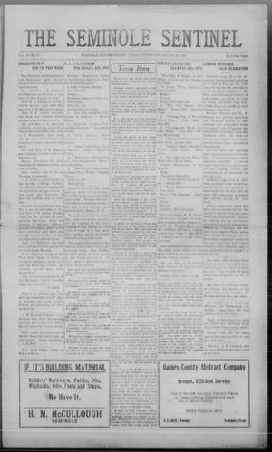 Primary view of object titled 'The Seminole Sentinel (Seminole, Tex.), Vol. 17, No. 21, Ed. 1 Thursday, August 16, 1923'.