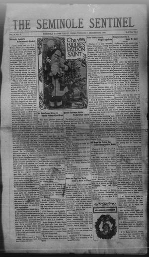Primary view of object titled 'The Seminole Sentinel (Seminole, Tex.), Vol. 26, No. 42, Ed. 1 Thursday, December 22, 1932'.