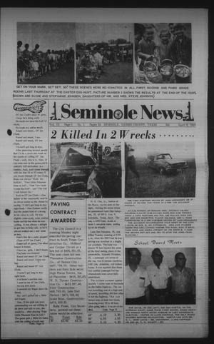 Primary view of object titled 'Seminole News (Seminole, Tex.), Vol. 3, No. 1, Ed. 1 Wednesday, April 9, 1969'.