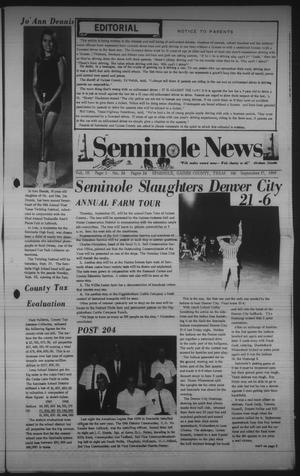 Primary view of object titled 'Seminole News (Seminole, Tex.), Vol. 3, No. 24, Ed. 1 Wednesday, September 17, 1969'.