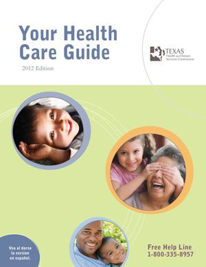 Primary view of object titled 'Your Health Care Guide, 2012'.