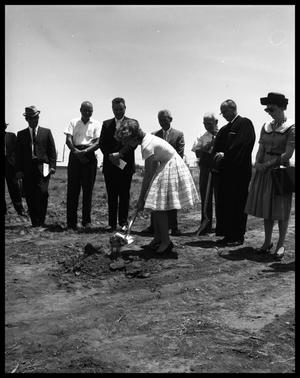 Primary view of object titled 'Lutheran Church Groundbreaking'.