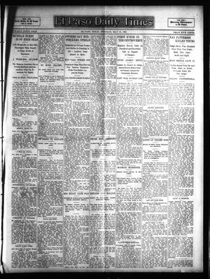 Primary view of object titled 'El Paso Daily Times (El Paso, Tex.), Vol. 25, Ed. 1 Tuesday, May 16, 1905'.