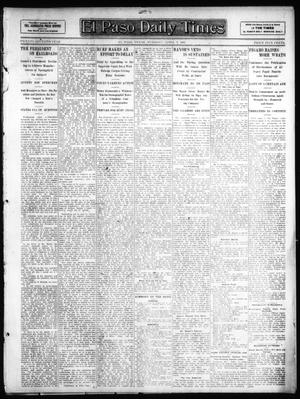 Primary view of object titled 'El Paso Daily Times (El Paso, Tex.), Ed. 1 Tuesday, April 2, 1907'.