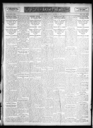 Primary view of object titled 'El Paso Daily Times (El Paso, Tex.), Vol. 26, Ed. 1 Tuesday, December 18, 1906'.