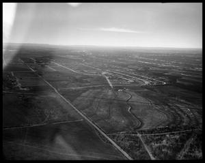 Primary view of object titled 'Aerial View of Abilene'.
