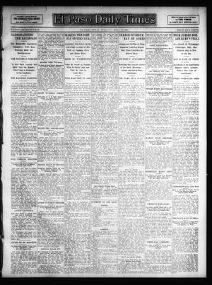 Primary view of object titled 'El Paso Daily Times (El Paso, Tex.), Vol. 27, Ed. 1 Tuesday, April 23, 1907'.
