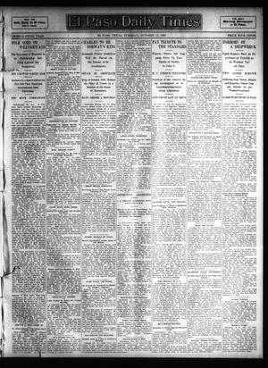 Primary view of object titled 'El Paso Daily Times (El Paso, Tex.), Vol. 25, Ed. 1 Tuesday, October 17, 1905'.